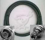 50 Foot RP SMA Male to N Male Times Microwave LMR 400 Coax