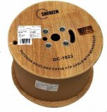 DC-1023 Shielded Cat5e FTP Cable with Messanger Wire 1,000 Foot Spool
