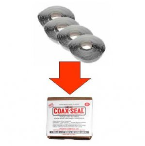 COAX-SEAL 1/2 inch Installer Pack #105