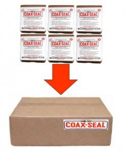 COAX-SEAL 1 Inch Installer Pack #106