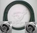 25 Foot N Male to N Male Times Microwave LMR 400 Coax