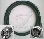 25 Foot SMA Male to N Male Times Microwave LMR 400 Coax