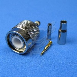 TNC Male Crimp Connector for LMR 100 Group B