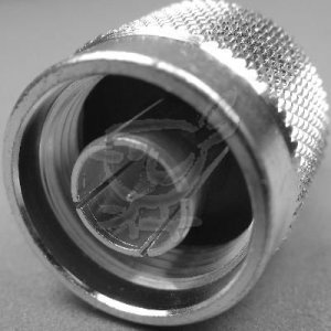 N Male Crimp Connector LMR 400, RFC400 and Group I Coax